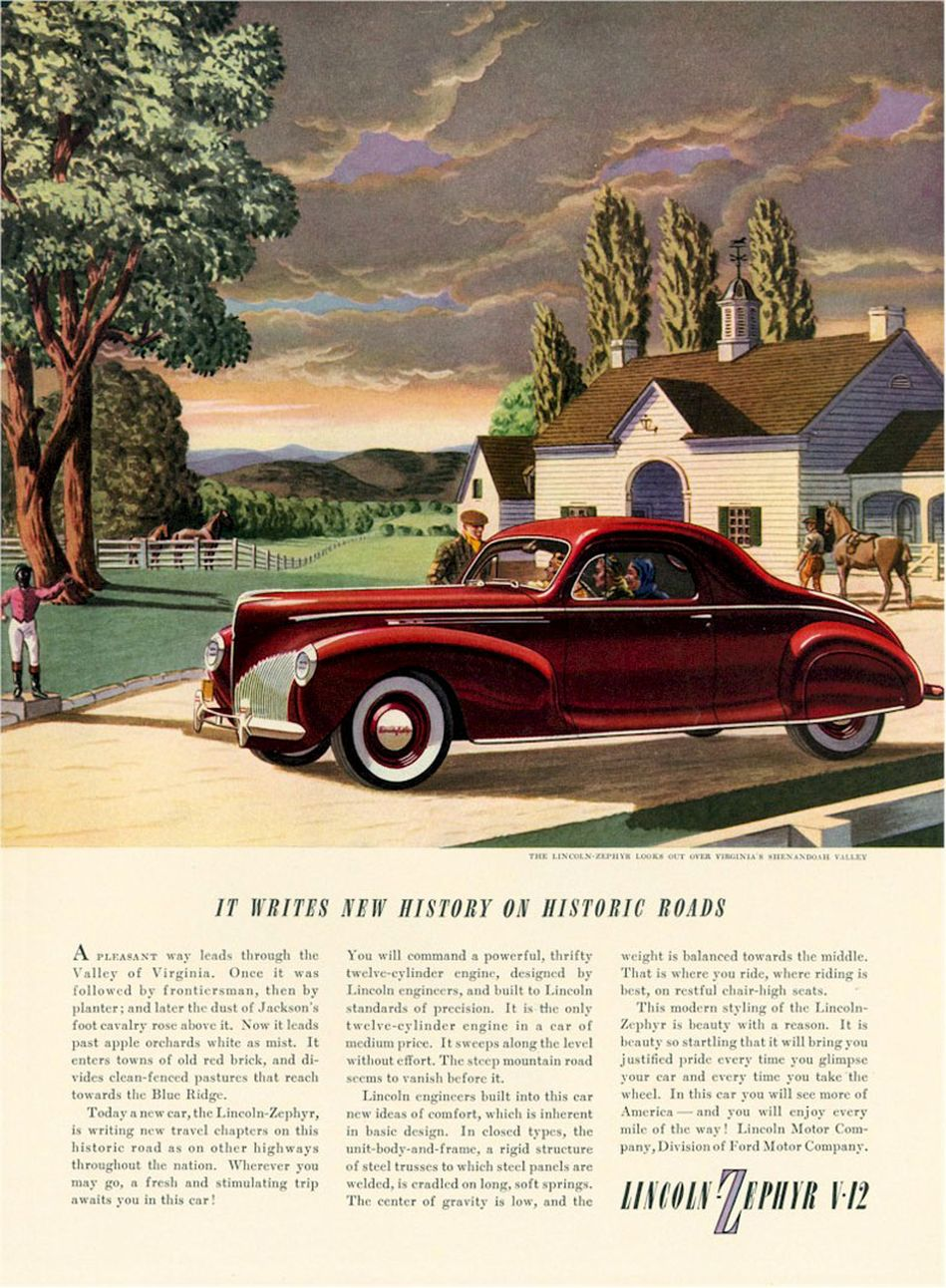 """automobile ads then and now As bob dylan once famously penned, """"the times, they are a-changin'"""" gone are the days when milk was delivered to your doorstep, movie tickets cost $1, and you could fill up your car with the change in your pocketbook."""